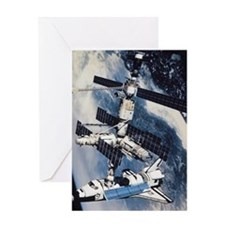 International Space Station Greeting Card