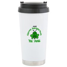 Glaucoma Awareness Month BEE 2 Travel Mug