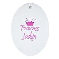 Princess Jadyn Oval Ornament
