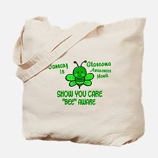 Glaucoma Awareness Month BEE 1 Tote Bag