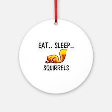 Eat ... Sleep ... SQUIRRELS Ornament (Round)