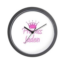 Princess Jaden Wall Clock