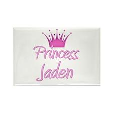 Princess Jaden Rectangle Magnet