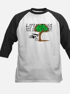 Dirt Bike Into Tree Tee