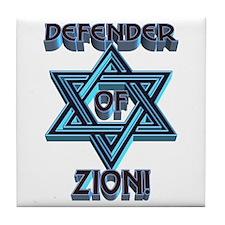 Defender of Zion! Tile Coaster