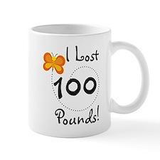 I Lost 100 Pounds Small Mug
