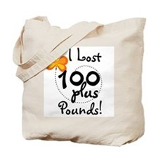 I Lost 100 Plus Pounds Tote Bag