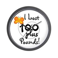 I Lost 100 Plus Pounds Wall Clock