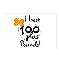 I Lost 100 Plus Pounds Postcards (Package of 8)