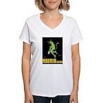 Maurin Quina Women's V-Neck T-Shirt