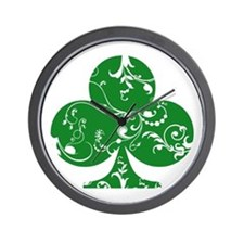 Green Club Wall Clock