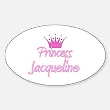 Princess Jacqueline Oval Decal