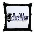 Dare Wear Throw Pillow
