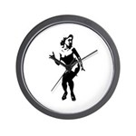Sexy Silhouette Pin-up Wall Clock