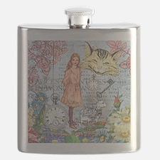 Cute Unbirthday Flask