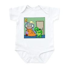 Tortoise radio dedication Infant Bodysuit