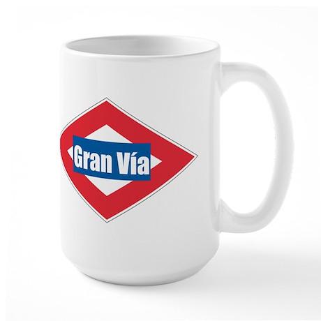 Gran Via Large Mug