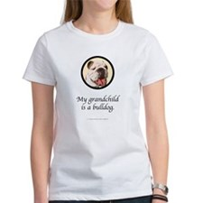 Grandchild is a Bulldog Tee