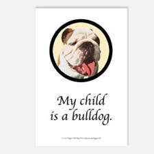 My Child is a Bulldog Postcards (Package of 8)