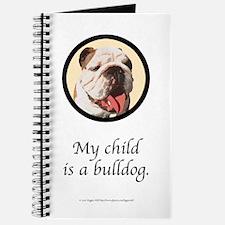 Child is a Bulldog Journal