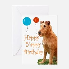 irish terrier Greeting Card