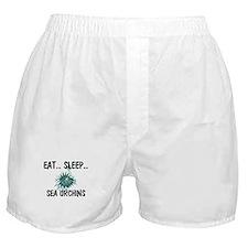 Eat ... Sleep ... SEA URCHINS Boxer Shorts