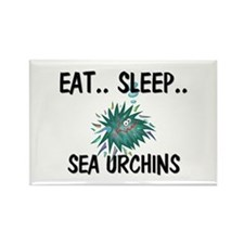 Eat ... Sleep ... SEA URCHINS Rectangle Magnet