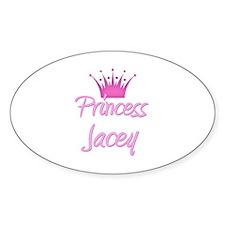Princess Jacey Oval Decal