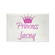 Princess Jacey Rectangle Magnet