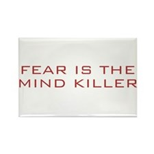 Fear Is The Mind Killer Rectangle Magnet