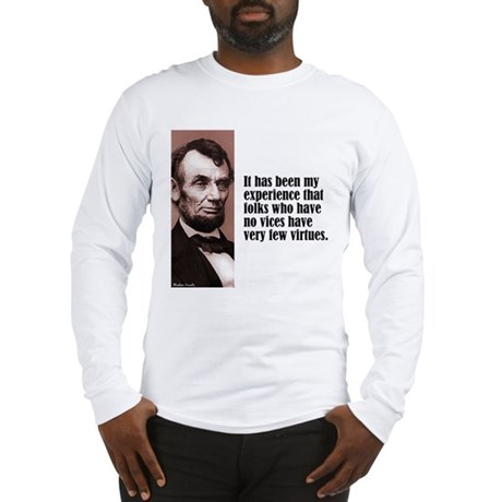"""Lincoln """"Vices & Virtues"""" Long Sleeve T-Shirt"""