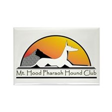 Funny Pharaoh hounds Rectangle Magnet