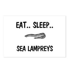 Eat ... Sleep ... SEA LAMPREYS Postcards (Package