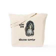Tibetan Terrier Lover Tote Bag