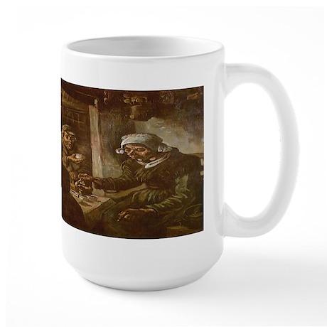 Van Gogh Potato Eaters Large Mug