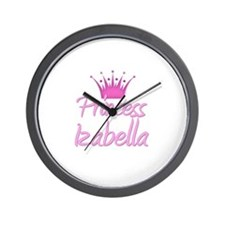 Princess Izabella Wall Clock