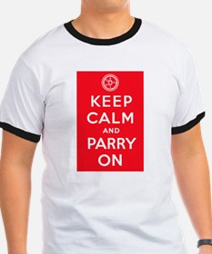 """""""Keep Calm and Parry On"""" T"""