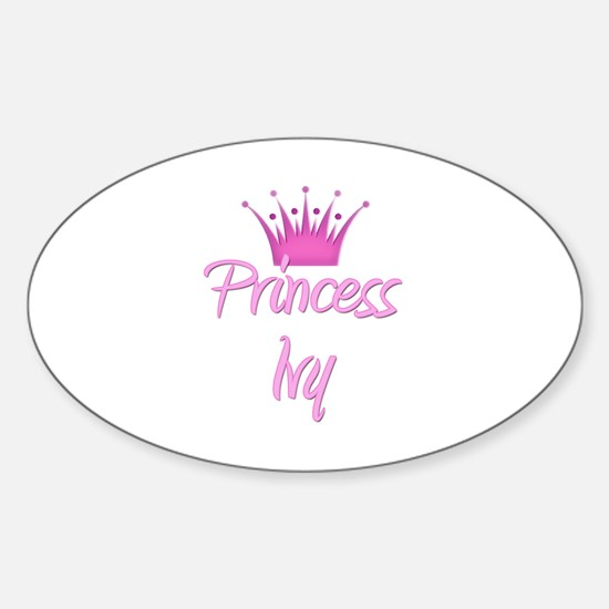 Princess Ivy Oval Decal