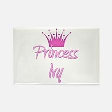 Princess Ivy Rectangle Magnet