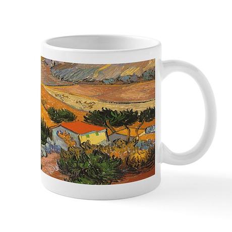 Van Gogh Valley Ploughman Mug