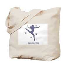 Cute Rhythmic gymnast Tote Bag