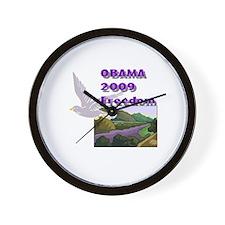 Obama 2009 Freedom Wall Clock