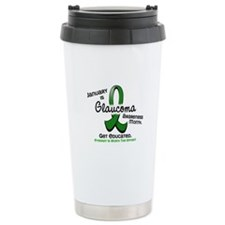 Glaucoma Awareness Month Travel Mug