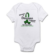Glaucoma Awareness Month Infant Bodysuit