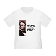 """Lincoln """"Do Good"""" T"""