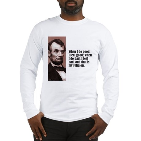"Lincoln ""Do Good"" Long Sleeve T-Shirt"