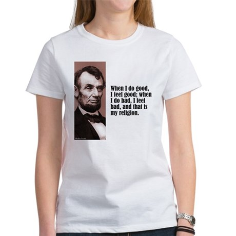 "Lincoln ""Do Good"" Women's T-Shirt"