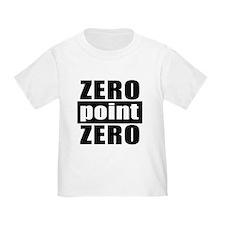 T zero point zero