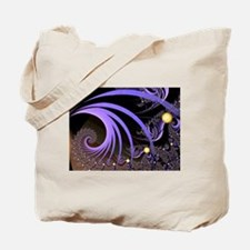 """Light 4"" Fractal Art Tote Bag"