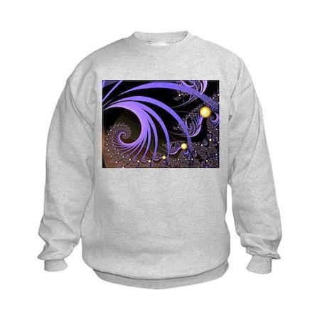 """""""Light 4"""" Fractal Art Kids Sweatshirt"""